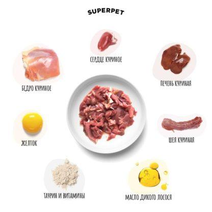 Корм SUPERPET из курицы